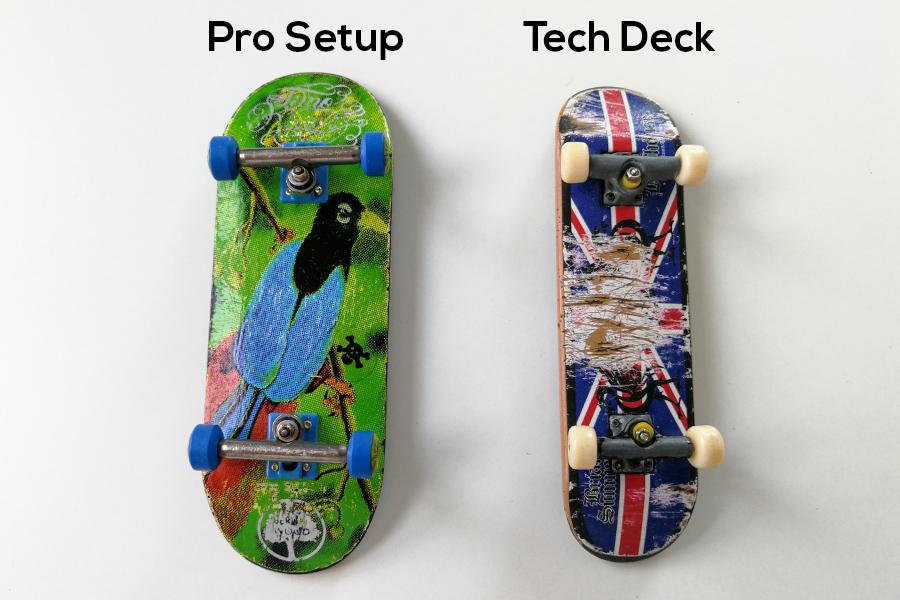 Tech Deck 5 Fingerboard Foam Grip Tape - Complete Wooden Fingerboard Wheels