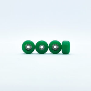 Product picture of green fingerboard bearing wheels with bearings