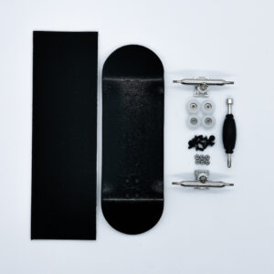 Product picture of black wooden fingerboard complete