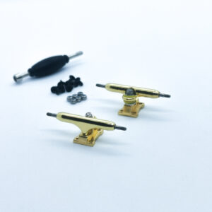 product picture of gold fingerboard trucks 34mm